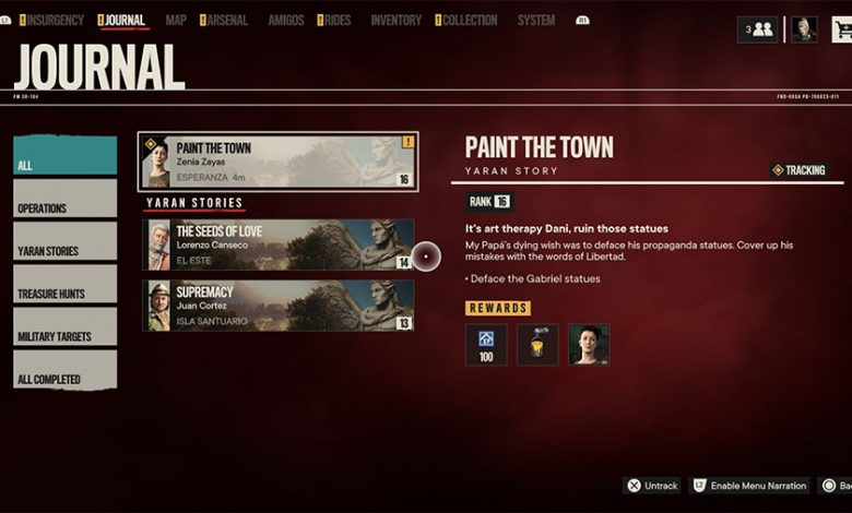 Far Cry 6 Where To Find The Statues For Paint The Town