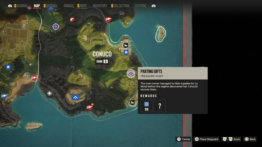 Parting Gifts treasure location far cry 6