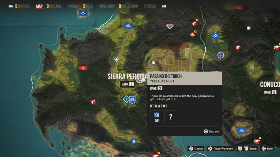 Passing The torch treasure hunt far cry 6