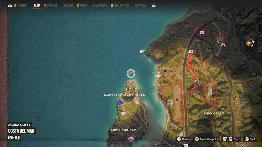 Tempestad Lighthouse Cripto Chest Location 2.1