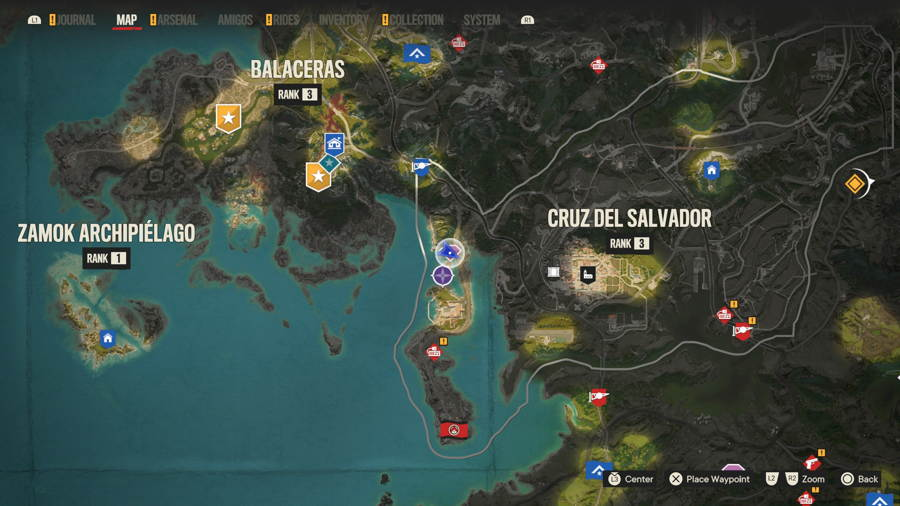 The missing Muse Treasure location far cry 6