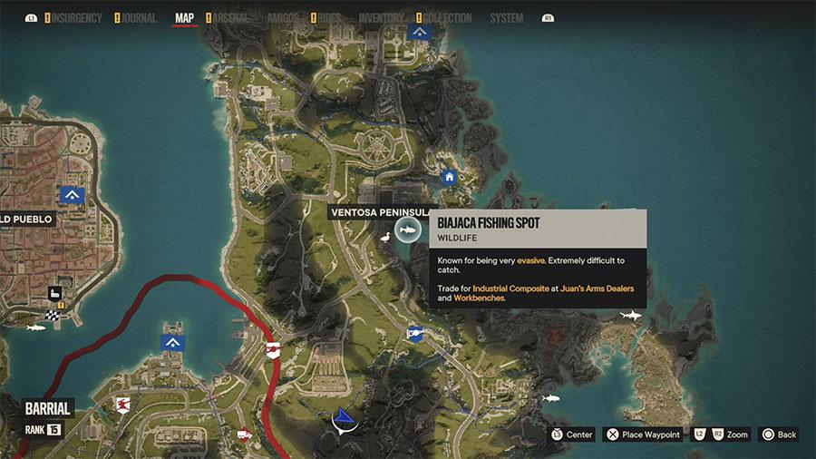 Where To Catch Biajaca (Extreme)