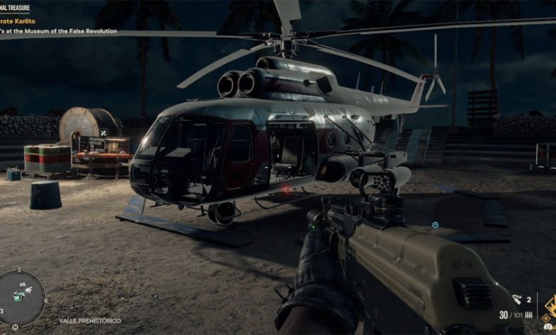 Where To Find A Helicopter With Rockets In Far Cry 6