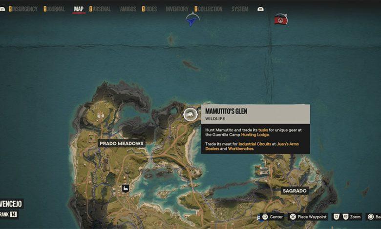 Where To Find Mamutito's Tusk In Far Cry 6
