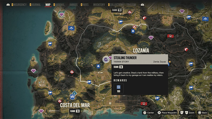 Where To Find The Best Tank In Far Cry 6 Map Location