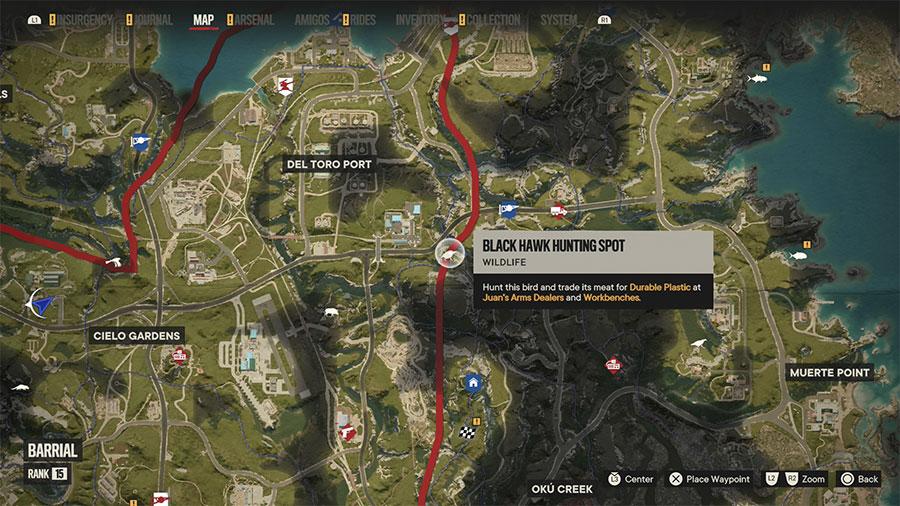 Where To Hunt Black Hawk