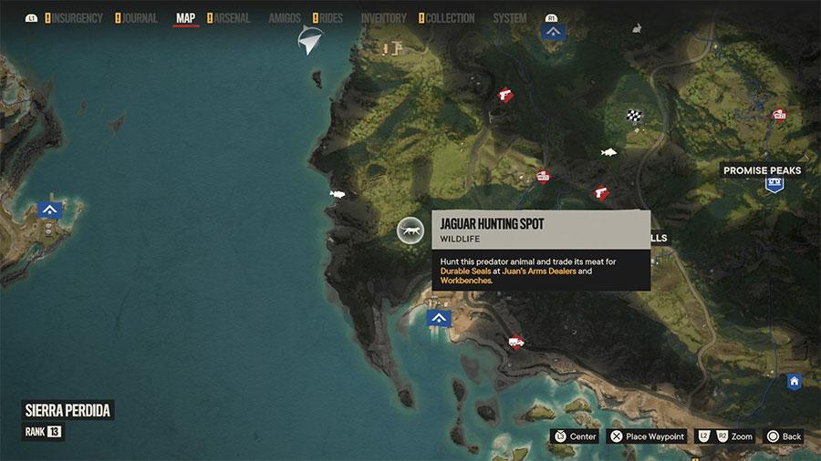 Where To Hunt Jaguar